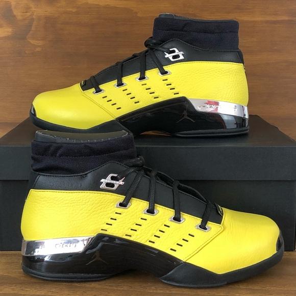 sports shoes ba9c6 f2477 Air Jordan 17 Solefly Yellow Black Low Lightnig